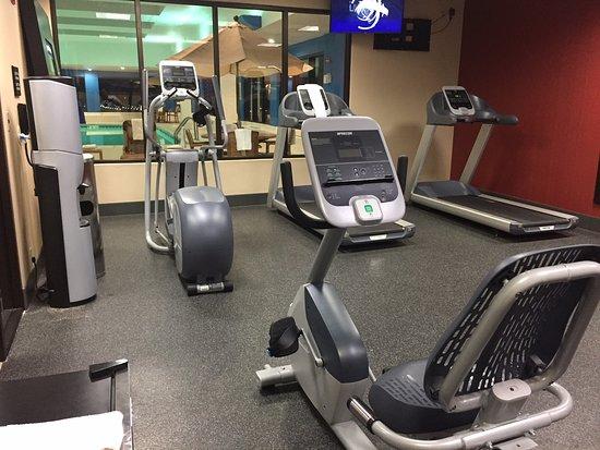 Hampton Inn - St. Louis Downtown at the Gateway Arch: cardio equipment