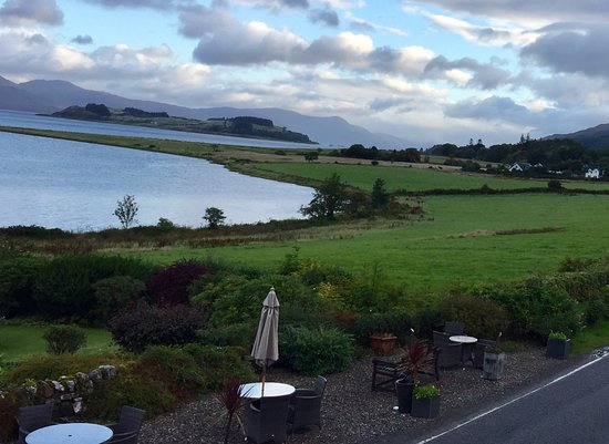 Port Appin, UK: Watch the sun rise on the distant hills