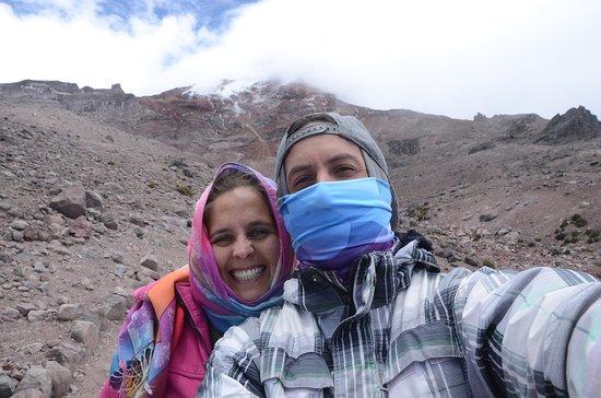 Chimborazo Province, Ισημερινός: intentando subir