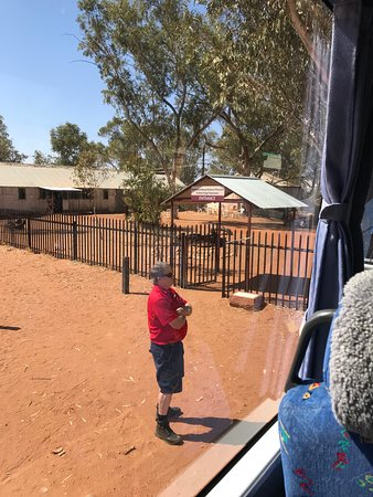 Hermannsburg, Australia: Community From The AAT Coach (Driver Jacob)