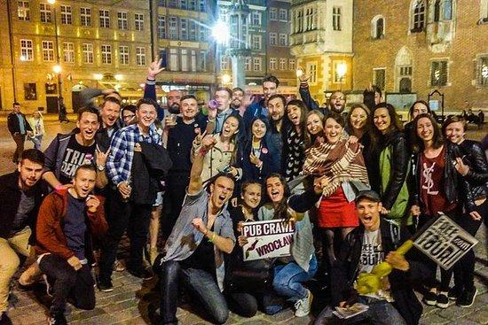 Wroclaw Pub Crawl med gratis drinker