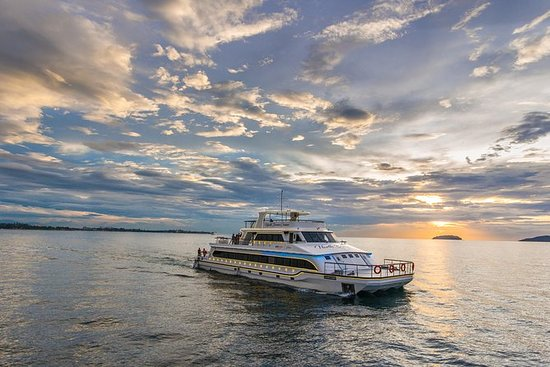 North Borneo Cruise Sunset Dinner...