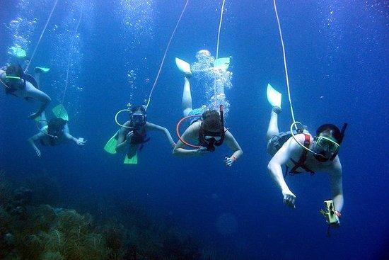 Pigeon岛上的SNUBA St Lucia水下和海滩冒险