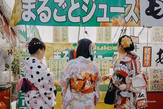 Asakusa et Kimono
