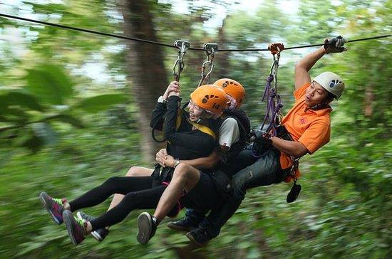 Jungle Flight Zip Line Abenteuerreise...