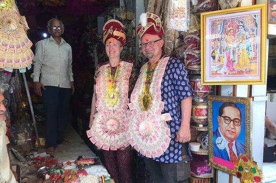 Agra Heritage Walk - ruas locais da...