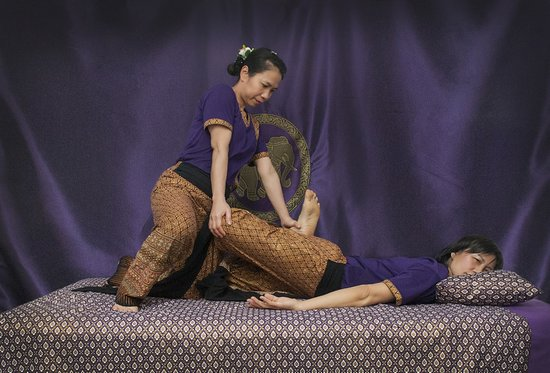 The Studio Traditional Thai Massage: Therapists Julie and Paa.