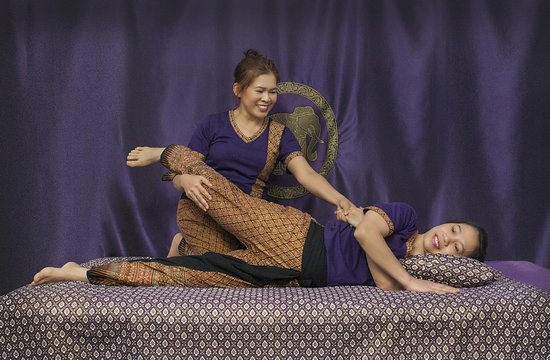 The Studio Traditional Thai Massage: Therapists Fiona and Julie.