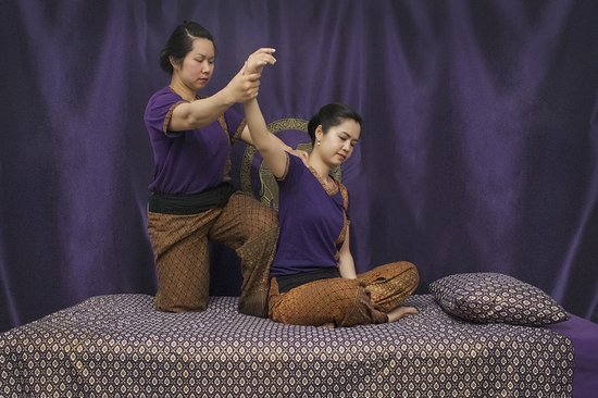 The Studio Traditional Thai Massage: Therapists Tik and Rayya.
