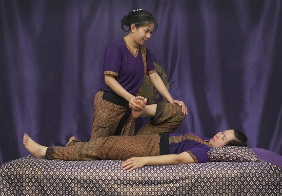 The Studio Traditional Thai Massage: Therapists Thida and Tik.