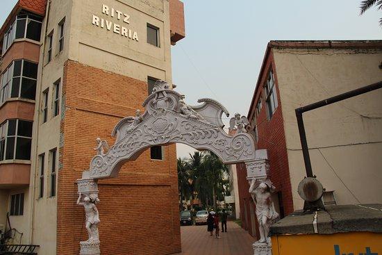 Falta, Ấn Độ: Hotel entrance
