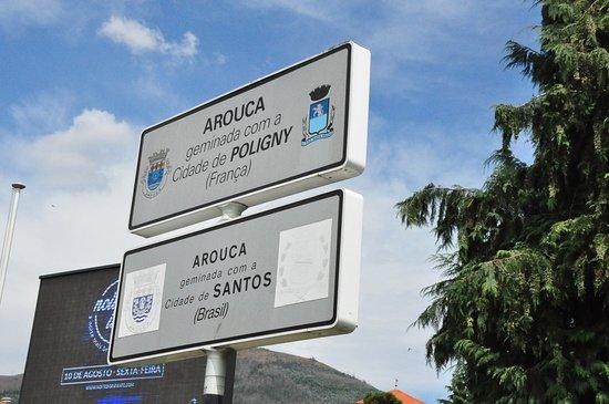 Entrance of Arouca.