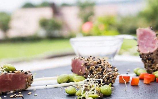 Wiesenthau, Germany: Tataki vom Campo Beef