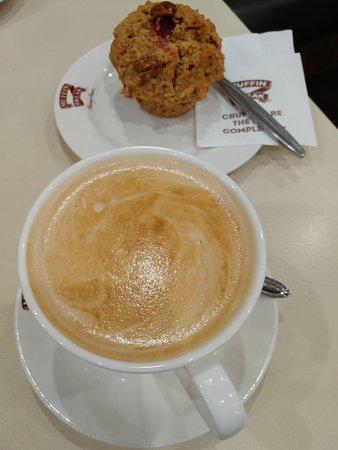 Sylvania, Australien: boring barista coffee with no flower art