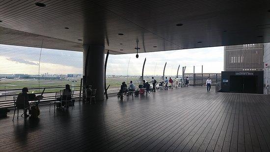 Tokyo International Airport (Haneda) Terminal 1 Observation Deck: 展望デッキ