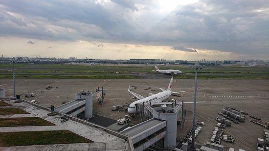 Tokyo International Airport (Haneda) Terminal 1 Observation Deck: 飛行機