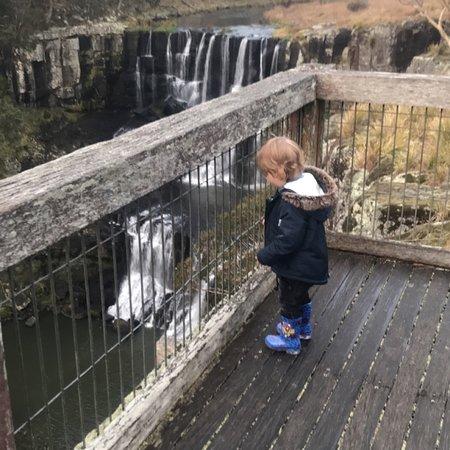 Incredible waterfalls, scenery and walking track