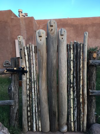 Gila, NM: Cute gate, an example of artistic detail here