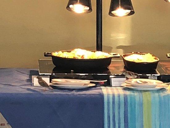 Hotel Transamerica Ilha de Comandatuba: Buffet do restaurante principal onde servem almoço e café da manhã