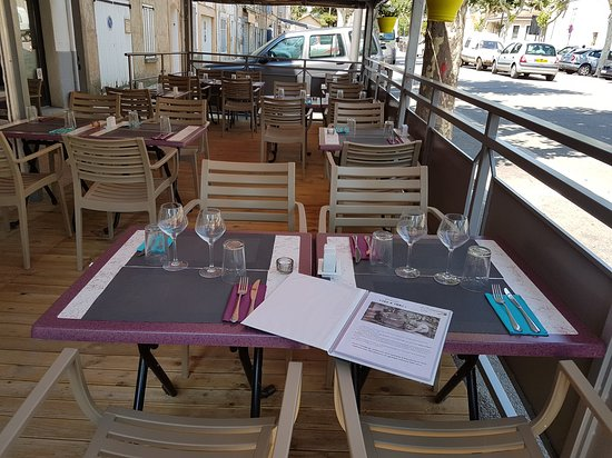 Brue-Auriac, Francja: Notre terrasse