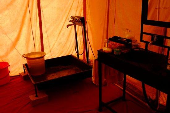Pokaran, India: Attach Bathroom