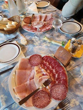 Castiglione d'Intelvi, Italien: Antipasto