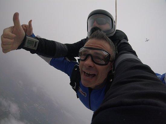Jefferson, WI: Enjoying the free fall!