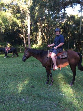 Floral City, Flórida: Horseback trip around the grounds