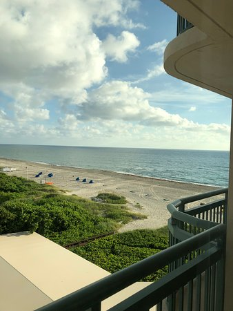 Singer Island, FL: View from our room