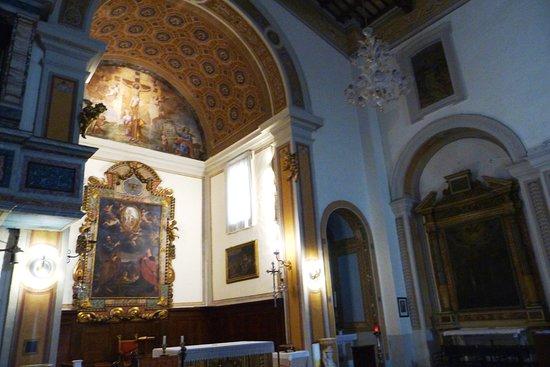 Montefalco, Italia: Veduta interna