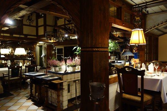 Bad Laasphe, Almanya: Restaurant von innen