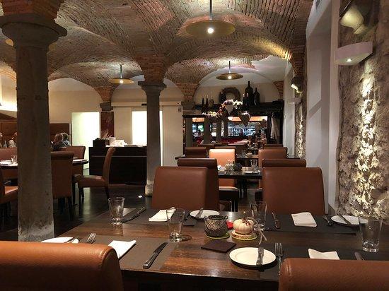 Osthofen, Germany: Restaurant Innenansicht
