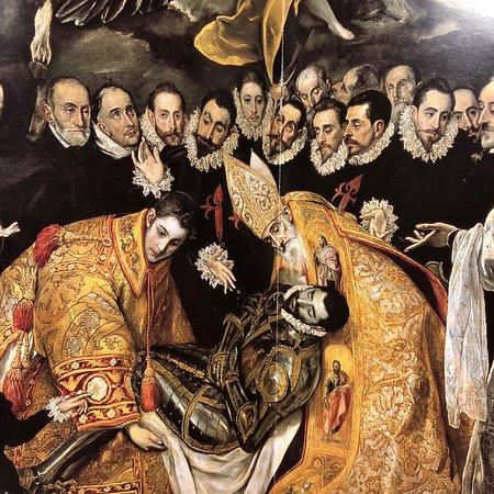 1588年 オルガス伯爵の埋葬 - トレド、サント トメ教会の写真 ...