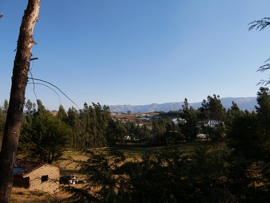 Carhuaz, เปรู: vue de la réception