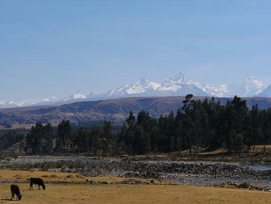 Carhuaz, เปรู: randonnée à pied du lodge
