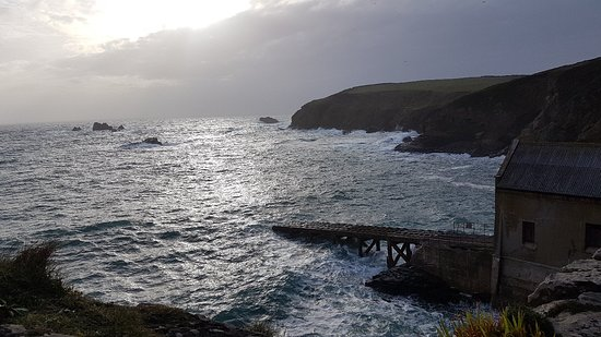 Lizard Peninsula, UK: Great place for a sunset.