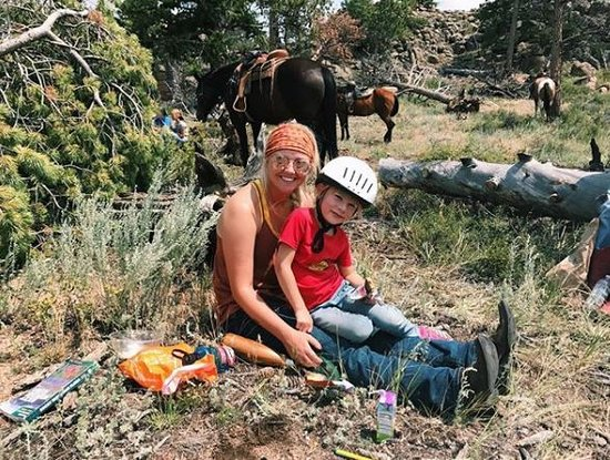 Red Feather Lakes, CO: Our wranglers have specialized training to ensure even the smallest of guests are safe & having