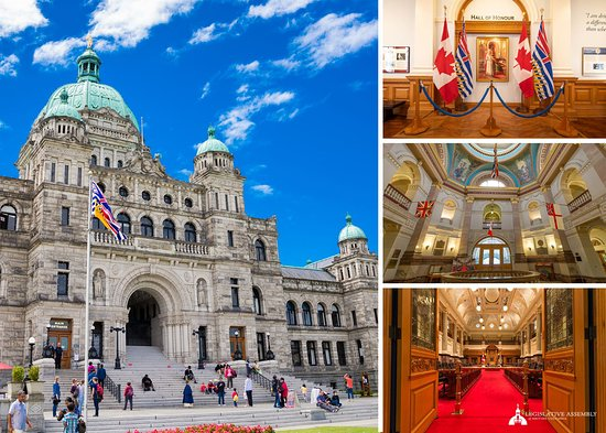 British Columbia Parliament Buildings: The BC Parliament Buildings
