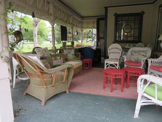 The Inn on Park Street: The deck