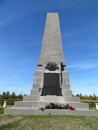 Pozieres, Γαλλία: 1st Australian Division Memorial