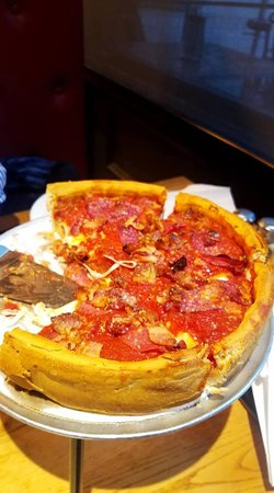 Giordano's: Small deep dish