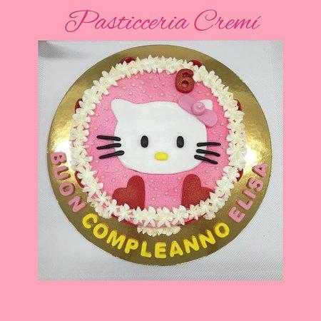Cremì produzione propria - torta Hello Kitty