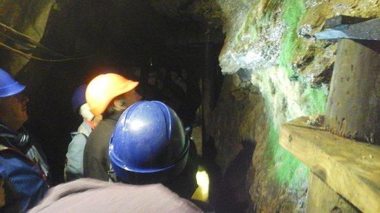 Wanlockhead, UK: Inside the mine