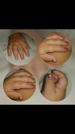 princess nails little one are welcome. - Picture of Five Star Salon ...