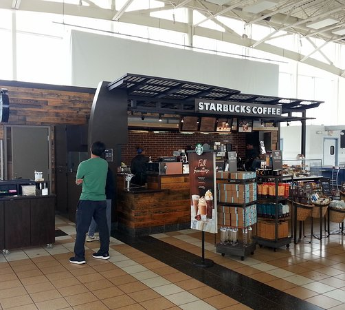 South Holland, IL: front of Starbucks Coffee at the Chicago Southland Lincoln Oasis on the Tri-State Tollway