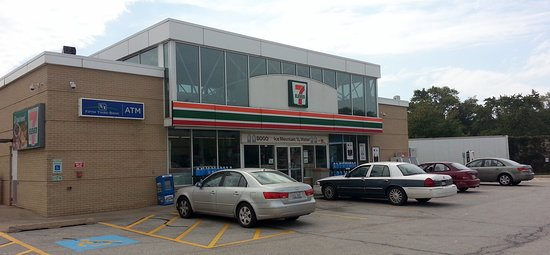 South Holland, IL: 7-Eleven on the eastbound side of the Tri-State Tollway at M.M. 1