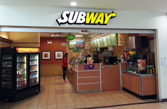 South Holland, IL: Subway at the Chicago Southland Lincoln Oasis on the Tri-State Tollway at M.M. 1