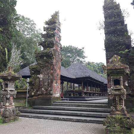 One of the six big temples in Bali