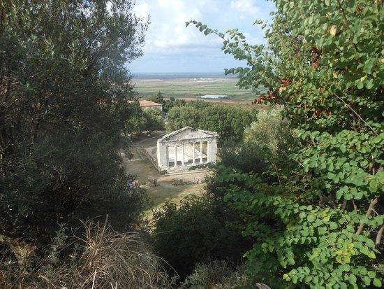 Apollonia: Le portique reconstitué