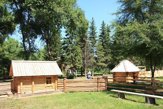 Shushenskoye, Rosja: Парк